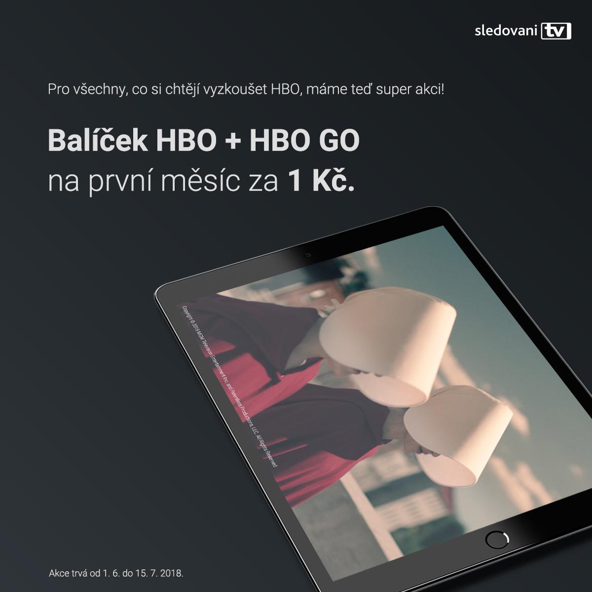 HBO za 1 Kč